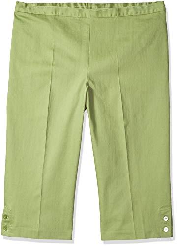 Alfred Dunner Damen Comfort Elastic Clam Digger Unterhose, graugrün, 44 -