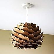 luminaire bois, suspension design, artisanat local