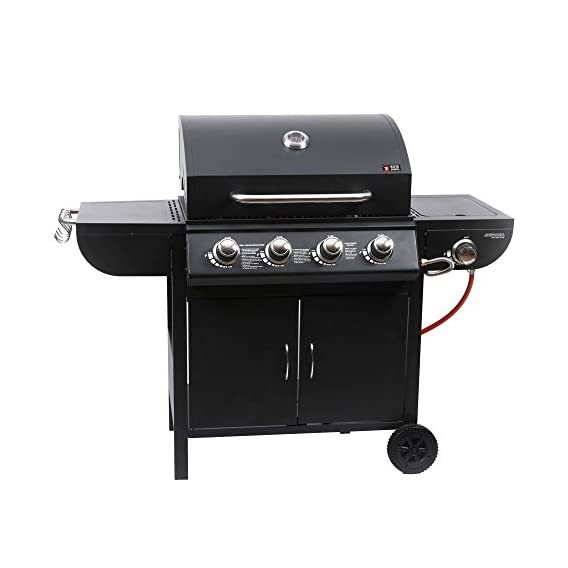 Mayer Barbecue Zunda Gasgrill Mgg 541 Basic Mit Seitenbrenner