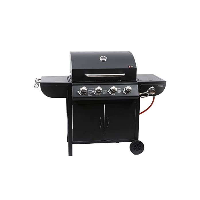 Mayer Barbecue Zunda Gasgrill Mgg 541 Basic Mit Seitenbrenner