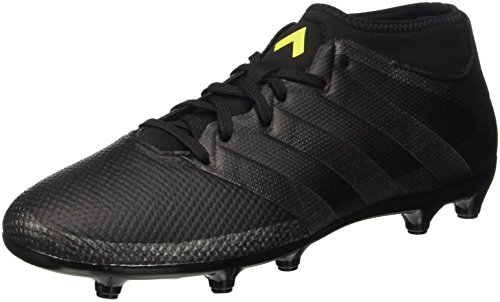 adidas Ace 16.3 Prime, Entraînement de football homme Noir (Core Black/Core Black/Solar Yellow)