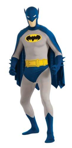 Kostüm L Batman 2nd skin Overall Jumpsuit Superhelden heroes - Superman 2nd Skin Kostüm