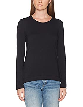 Marc O'Polo Body & Beach Mix Shirt Ls Crew-Neck, Top Pigiama Donna
