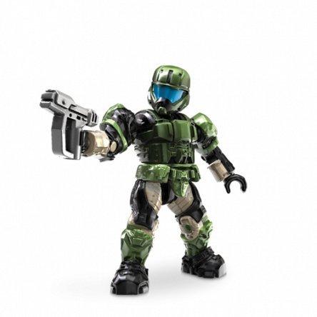 Ultra Force Camo (Mattel Mega Bloks - Halo Figur UNSC ODST Specialist green Minifigur)