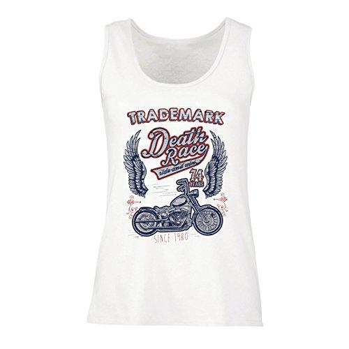 lepni.me Camisetas sin Mangas para Mujer Carrera de la Muerte - Andar...