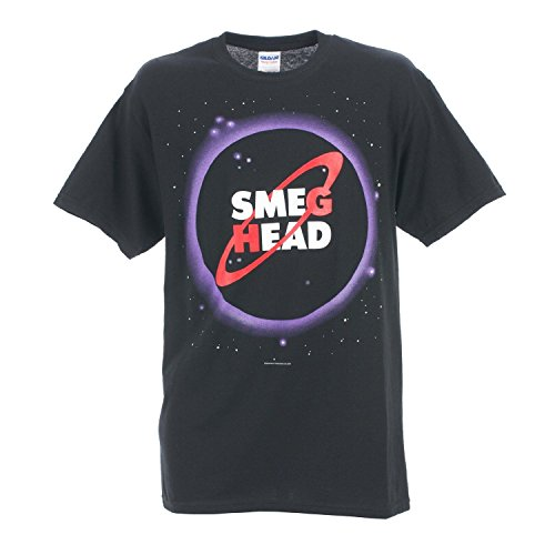 Red Dwarf Official 'Smeg Head' Adults Black T-Shirt