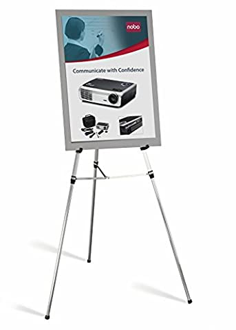 Nobo Telescopic Display Easel with 12 kg