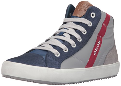 Geox Jungen J Alonisso Boy B High-Top Grau (GREY/BLUEC0580)