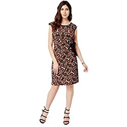Avirate Round Neck WRAP ON Dress