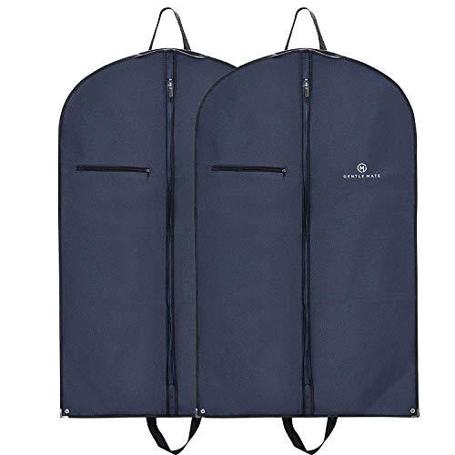 Gentle Mate 2er Set Premium Kleidersäcke mit Schultergurt inklusive Schuhbeutel – hochwertige...