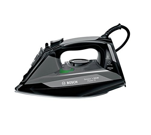 Bosch TDA3022GB Power Iii Steam Iron, 2850 W, Black/Grey Best Price and Cheapest