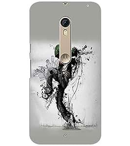 Printdhaba Hip Hop Dance D-1455 Back Case Cover For Motorola Moto X Pure Edition