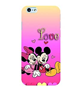 Popular Cartoon Characters 3D Hard Polycarbonate Designer Back Case Cover for Apple iPhone 6