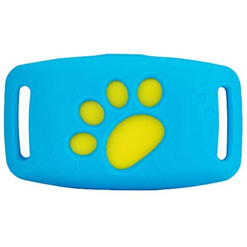 Topker GPS Inteligente Anti-caída para Mascotas Localizador Mini Perro Posicionador Gato Recordatorio de Seguimiento de Dispositivos sin Hilos Inteligente