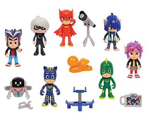 PJ Masks 14 Piece Deluxe Figure Set