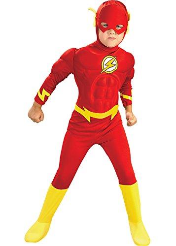 Rubie's Masquerade Bambini dimensione Deluxe il Costume di Flash Medium (5-6 years)