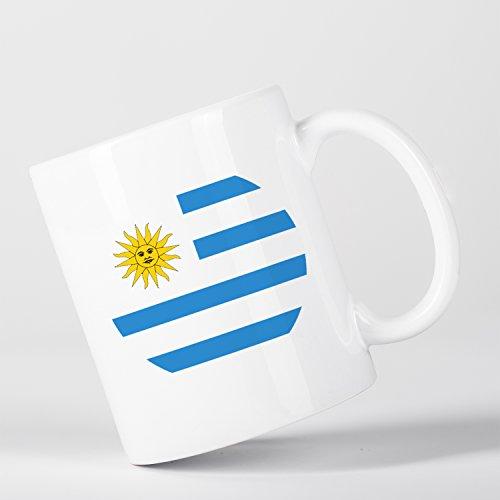 Uruguay Uruguayan Flag Bandera Uruguaya Taza