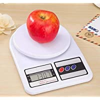 HK MART Digital Kitchen Weighing Machine Multipurpose Electronic Weight Scale with Backlit LCD Display for Measuring Food, Cake, Vegetable