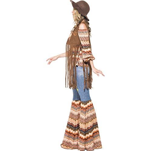 ower Power Damenkostüm L 44/46 60er Jahre Vintage Hippiekostüm Hippie Kostüm Karneval Kostüme Damen Retro Party Faschingskostüm Blumenkind Mottoparty Verkleidung (60er Und 70er Jahre Outfits)
