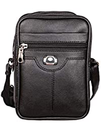 fcf4078c3 Trendy Dukaan™ PU Leather Sling Messenger Cross Body Bag for Men - 3 Pockets