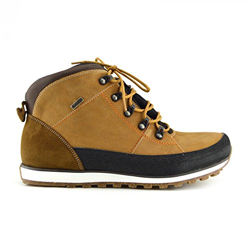 Couro De Premium De Trekking Respirável Ao Conforto Calçado Livre Homens Ar Impermeável Mel botas Pontapé qE0Ux4wS