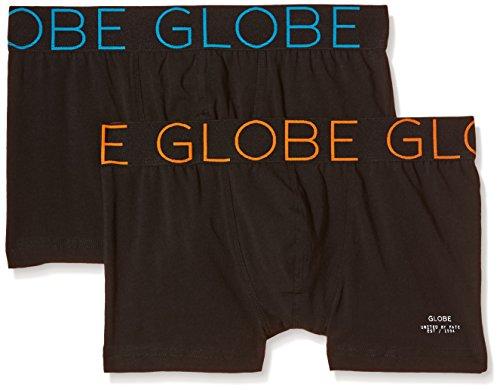 Globe Herren Unterhosen Lindros 2 Pack Black