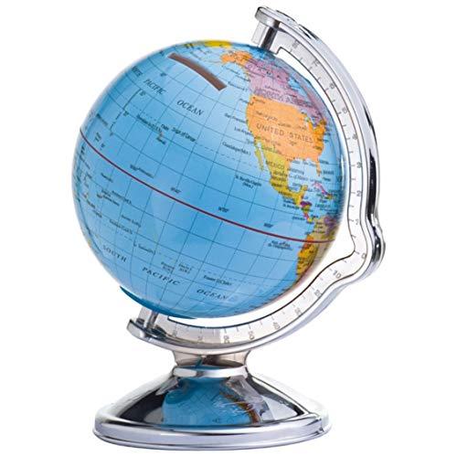 Hucha en forma de bola del mundo (giratoria, caja registradora de viaje de Sinsey