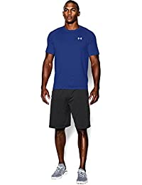 Under Armour Ua Tech Ss Tee, Camiseta De Fitness Hombre, Azul (Royal), M