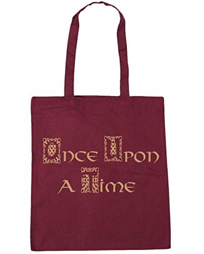 hippowarehouse-once-upon-a-time-haba-una-vez-bolso-de-playa-bolsa-compra-con-asas-para-gimnasio-42cm