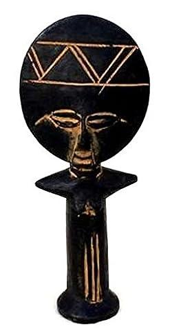 AFRIQUE ART DECORATION -Poupée Ashanti moyen modèle POAM-A3