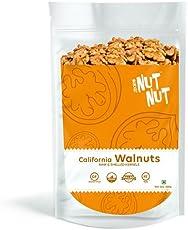 NutNut Raw Walnuts 300g – Vegan & Gluten Free. Dry Premium Quality Dried Walnuts.