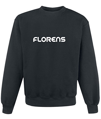Felpa Florens - Print Your Name Black