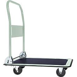 TecTake Plattformwagen Handwagen klappbar bis 150 Kg