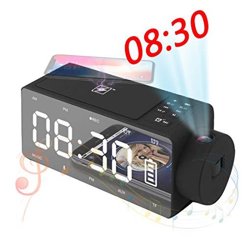 Speaker-EJOYDUTY Bluetooth estéreo de Alta fidelidad del Altavoz con el Despertador de...