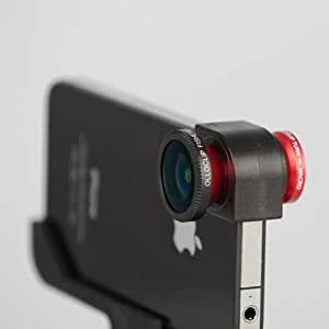 Olloclip High Quality iPhone 4 camera Lens System Fisheye and WideAngle Macro. Easy to Use and Ready in Seconds!