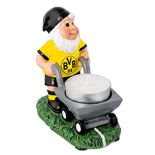 Borussia Dortmund BVB-Gartenzwerg mit Teelichthalter one Size