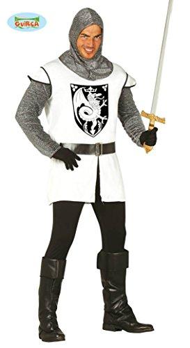 Kettenhemd Kostüm (mittelalterlicher Ritter Kostüm für Herren Gr. M/L,)