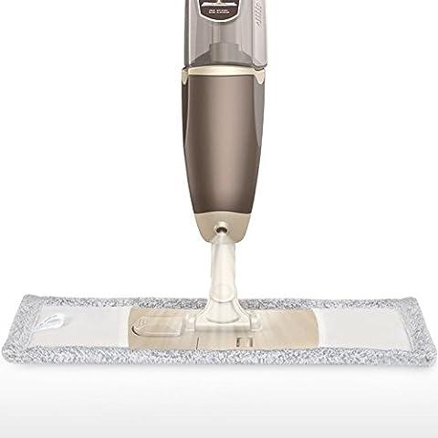 BJM facile da strizzare lo straccio in microfibra per pulire, spolverare mocio rotante e secchio per mocio, Argento, 56.5*29.5*12cm