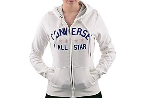 Converse Giacca Cappuccio Sweatshirt Neu Gr Xs D.