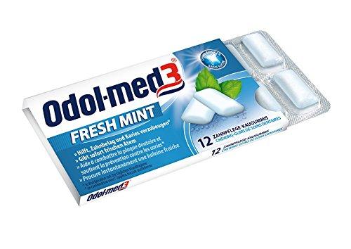 Odol-med3 13258 Kaugummi Freshmint, 12x 12 Stück