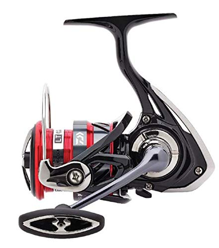 Daiwa Ninja LT 3000C XH, Spinning Angelrolle mit Frontbremse, Compact Body, 10219-306