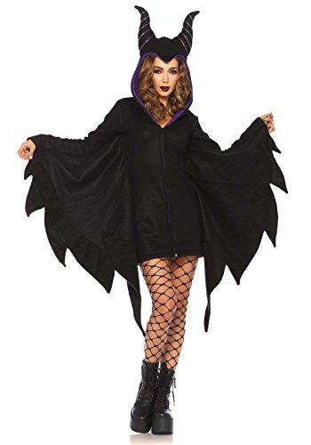 Bösewicht Frauen Für Kostüme (Leg Avenue 85519 - Cozy Villian Kostüm, Größe Small (EUR)