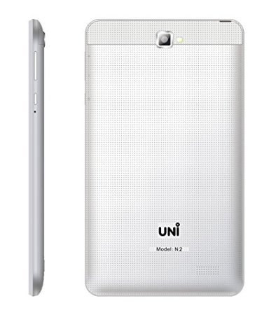 UNI N2 Tablet (4GB, 7 Inches, WI-FI) White, 512MB RAM Price in India