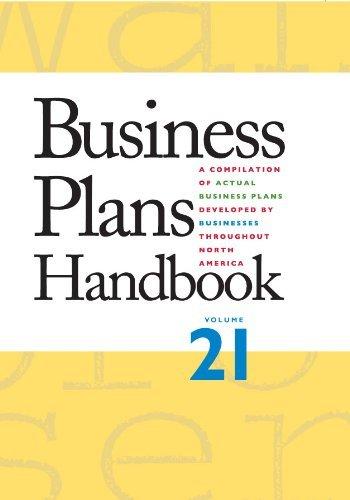 Business Plans Handbook (2011-06-08) par unknown