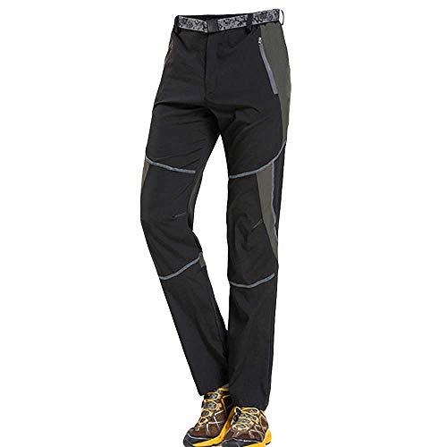 SOMESUN Uomo All'Aperto Pantaloni Ad Asciugatura Rapida Casuale Pantaloni Traspiranti Comodi Elasticizzati Larghi Vita Alta Lavoro Elegante Sportivo Invernali Utility Militari