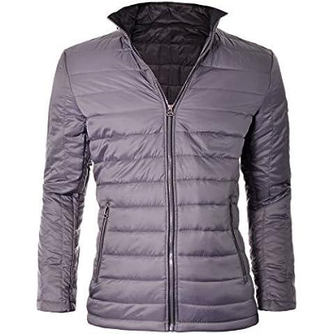 D&R Fashion Giacca stile classico da uomo intelligente moda delicato e materiali leggeri