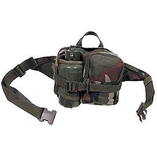 Armeeverkauf Hüfttasche mit Trinkflasche - Farbe: woodland