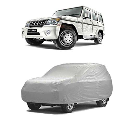 Mahindra BOLERO XL Car Body Cover Silver  available at amazon for Rs.899