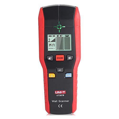 Fdit Detector de Pared Profesional Buscador Detector de Mano Digital Madera Cable de Metal de CA Herramienta...