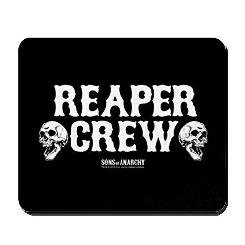 Preisvergleich Produktbild CafePress–SOA REAPER CREW–Rutschfester Gummi-Mauspad, Gaming Maus Pad